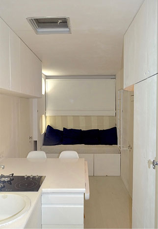 Sudio-logement régisseur galerie nomade vue 1