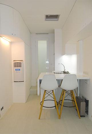 Sudio logement régisseur galerie nomade vue 2